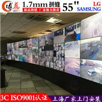 万众瞩目博慈1.7mm55寸液晶拼接屏电视墙