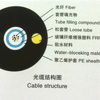 供应松套层绞式非金属加强芯普通铠装光缆