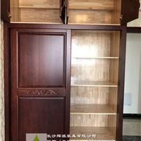 长沙全屋实木家具定制实木书架订做货期短