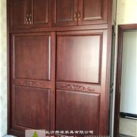 长沙原木家具定制整体原木橱柜门定制传承