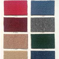 厂家批发华德纯色圈绒地毯 展览地毯 红地毯