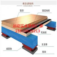 柞木运动木地板 运动馆室内木地板
