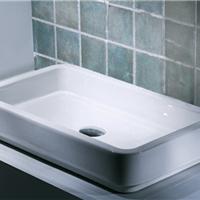 BRAVAT贝朗方形台上盆洗手台盆洗脸面盆