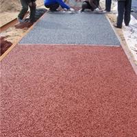 供应真石丽露骨料透水地坪,彩色透水混凝土