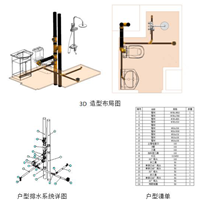 装配式静音同层排水系统(PP静音、HDPE)