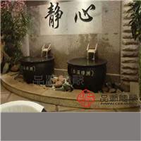 浴场中药保健浴陶瓷泡澡缸的图片
