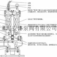 供应QW150-180-15-15水泵型号 潜水排污泵