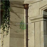 娄底纯铜檐沟 定制纯铜集水槽订单