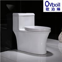 马桶陶瓷连体座便器节能卫生洁具坐厕大便器