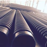 HDPE缠绕增强B型管 克拉管 排污排水管采购
