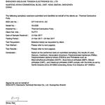 导热凝胶SGS检测报告