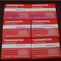 供应�THERMOMETER测温纸测温贴片单格多格