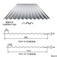 供应YX18-76-836型彩钢板压型板