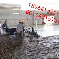 混泥土钢筋网厂房激光整平机施工中