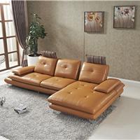 佛山 真皮质沙发现代客厅会客沙发小户型
