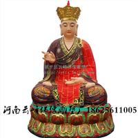 厂家直销树脂佛像 地藏王菩萨 寺庙神像定制