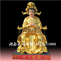 供应优质佛像 后土圣母神像厂家批发