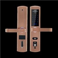 九万里智能锁W300高端智能视频语音手机锁