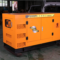 纯铜线圈60KW静音柴油发电机尺寸