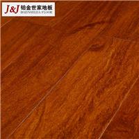 铂金世家地板厂家直销二翅豆纯实木地板