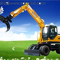 轮式挖掘机抓木机 轮式挖掘机抓木机价格