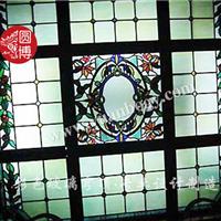 圆博供应个性定制彩色玻璃穹顶