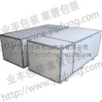 业丰钢带包装箱,钢带木箱钢边箱拆装方便