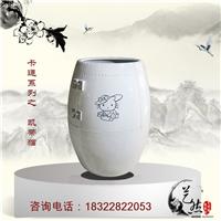 艺然陶瓷定制各规格陶瓷酒瓶花瓶