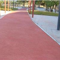 供青海彩色沥青和西宁彩色透水地坪