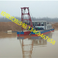 广东梅州300方机械绞刀抽沙船适合多厚沙层