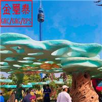 青岛主题公园学校雕塑GRC生产安装