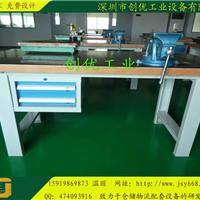 济南钳工操作台|铁板钳工台|钢板维修台生产商
