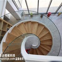 钢架旋转楼梯玻璃扶手