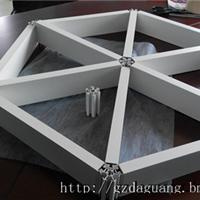 六角格栅天花安装方法/吊顶天花厂1