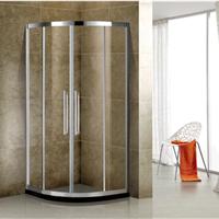 304不锈钢弧形淋浴房