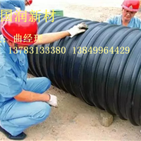 大口径埋地排水增强钢带波纹管