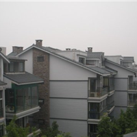 吉林PVC外墙挂板,别墅、厂房外墙挂板
