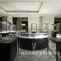 萨特阿拉伯不锈钢珠宝展示柜设计定制效果图