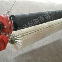 电动辊刷清扫器V型清扫器 矿用运输机清扫器