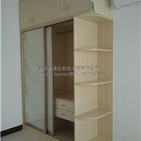东莞衣柜生产厂家定做实木柜子制作安装工程