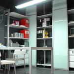 喜慕乐品牌_定制简易办公家具_书桌书柜书架