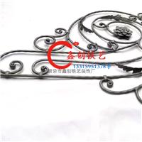 厂家供应各种锻打焊接铁艺花盘,梯花,梯杆