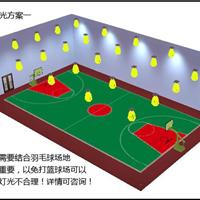 篮球场馆用什么灯,篮球场灯光怎么布置