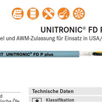 LAPP UNITRONIC FD P plus电缆