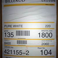 瑞典单光牛皮纸 35g40g45g50g进口白牛皮纸