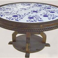 推荐家具镶嵌青花瓷板案例_瓷板画生产厂家