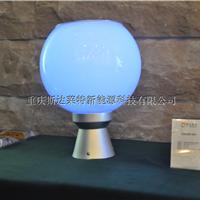 供应遥控变色球形太阳能围墙灯 1个起批