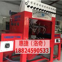 惠州铝件专用输送式自动喷砂机