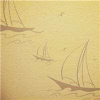 帆船液体壁纸