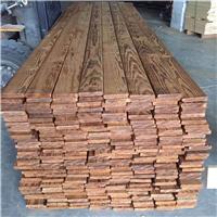 供应碳化木薄板 南京碳化木现货 碳化木厂家